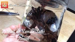 vanille sans alcool fait maison