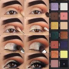 makeup sparkly smokey eye tutorial