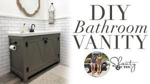 Diy Bathroom Vanity Youtube