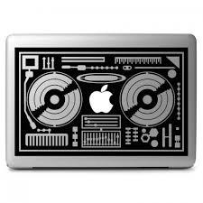 Dj Console Apple Macbook Air Pro 11 13 15 17 Vinyl Decal Sticker Dreamy Jumpers
