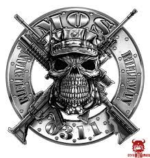 Usmc 0311 Rifleman Mos Decal Marine Corps Items