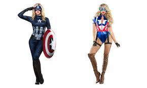 6 captain america costumes