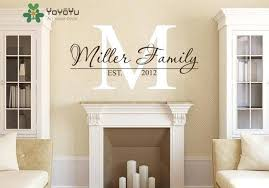 Monogram Wall Decal Muconnect Co