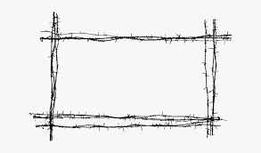 Barb Wire Frame Png Barbed Wire Fence Png Free Transparent Clipart Clipartkey