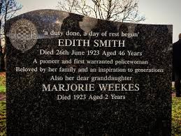 Rest in peace PC Edith Smith 1876 -1923.... - Lincolnshire Police | Facebook