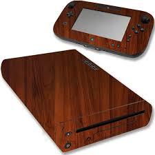 Vwaq Wii U Wood Skins Nintendo Wii U Console Woodgrain Skin Decal Vwaq Wgc4 Video Game Walmart Com Walmart Com