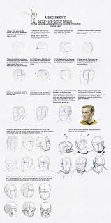 Drawing heads ...
