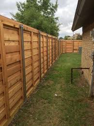 Horizontal Fence Inside Building A Fence Fence Design Horizontal Fence