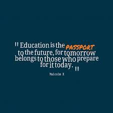 malcolm x quote about future