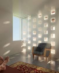 obra architects glass blocks wall