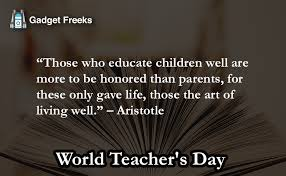 world teacher s day quotes greetings quotes captions
