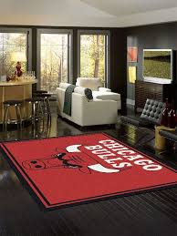chicago bulls nba team spirit rug