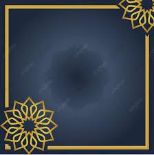 خلفية تحية إسلامية مع ماندالا أو زخرفة التوضيح النواقل باللون