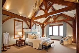 luxury timber frame traditional