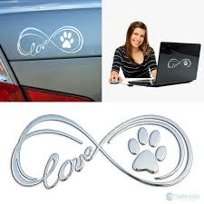 3d Infinity Paw Decal Top Pet Gifts