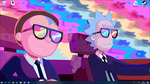 morty wallpaper engine live wallpapers