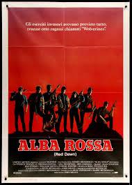 Red Dawn (1984) Original Italian 2 Fogli Movie Poster - Original ...