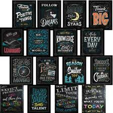 motivational classroom wall posters inspirational quotes