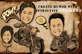 change photo into caricature for