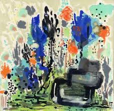 garden painting by wyanne thompson