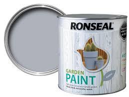 Ronseal Garden Paint Pebble 2 5ltr