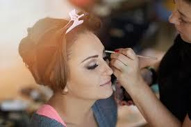 bridal make up hair style dubai