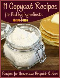 copycat recipes for baking ings