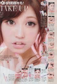 gyaru makeup tutorial scans saubhaya