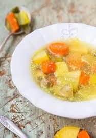 homemade vegetable soup broth best