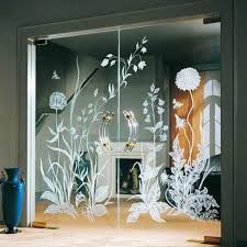 glass doors and room dividers inviting