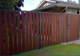 Steel Framed Wood Sliding Gates