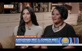 Kim Kardashian Meets Alice Marie Johnson For the First Time - Kim ...