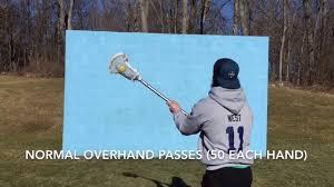 wall ball lacrosse iq