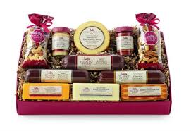 hickory farms gift baskets and a