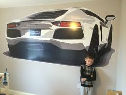 Lamborghini Aventador Giant Wall Decal Boy Bedroom Design Boys Bedroom Themes Cars Room
