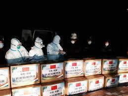 COVID-19. В Кыргызстан прибыла гумпомощь из Китая для врачей