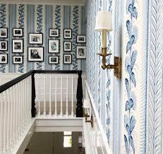 Quadrille Climbing Hydrangea wallpaper by Hillary Taylor Interiors