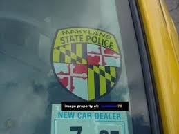 Md Maryland State Police Mdsp Window Decal Sticker 29062623