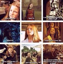 harry potter universe on ginny weasley quotes