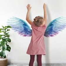 2pack Angel Wings Glowing Wall Stickers For Kids Room Luminous Wall Sticker Decals For Bedroom Living Room Wall Decoration For Kids Room Airplane Wall Stickers All Wall Stickers From Magic Living 14 02 Dhgate Com
