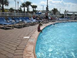 another shot of outdoor pool hotel is
