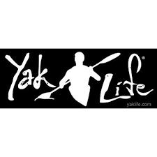Licensed Black Yak Life Sticker Decal Kayak Kayaking Kayaker Paddle 3 X 9 Inch Walmart Com Walmart Com