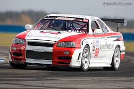 nissan skyline drag drift race