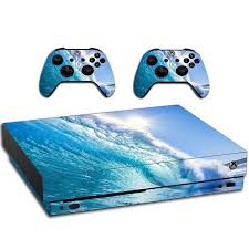 Vwaq Ocean Skins For Xbox One X Vinyl Wrap Decal Cover Sticker For X
