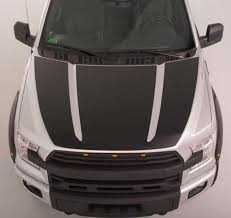 F150 Hood Wrap Blackout Decal 2015 2019 Roush Inspired Etsy