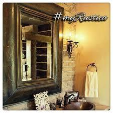 mexican tin tile mirror