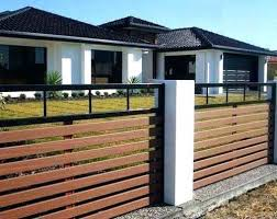 Home Fence Ideas X Front House Fence Ideas Modern Wood Designs Home Design With Minimalist Fence Designs By Wood Fence Design Modern Fence Design Fence Design