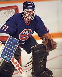 Billy Smith (With images) | New york islanders, Hockey goalie, Nhl ...