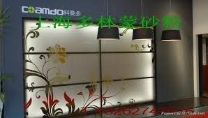 glass etching frosting powder operation