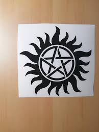 Supernatural Anti Possession Wall Car Window Decal Sticker Etsy